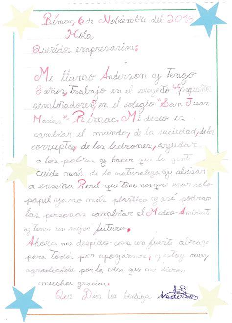 la carta de los ninos el detras de camaras blogs gestion