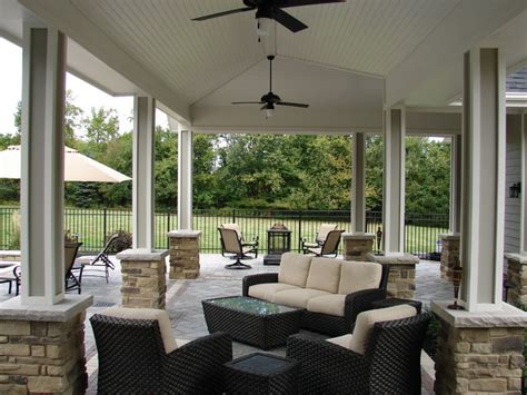 covered outdoor seating covered outdoor seating area traditional patio