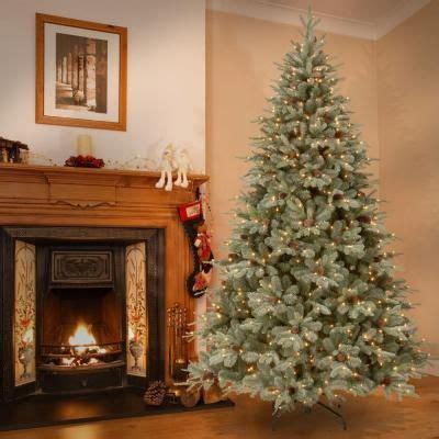 feel real alaskan spruce tree national tree company 12 ft feel real alaskan spruce hinged artificial tree with