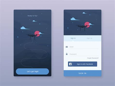 mobile sign in 50 mobile login and signup forms for your inspiration