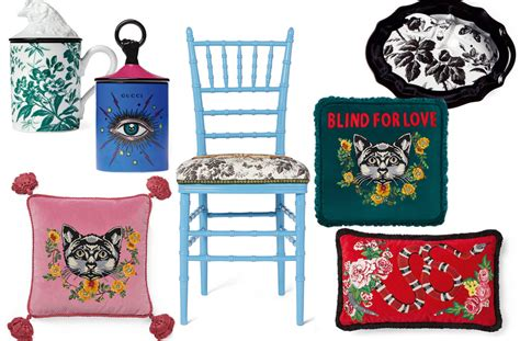 gucci home decor gucci is launching a d 233 cor collection this fall and it s