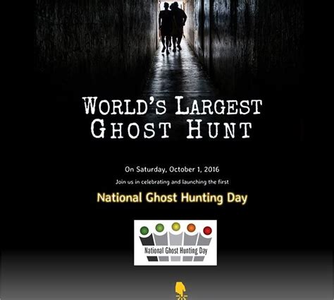 scientifical americans the culture of paranormal researchers books excitement building for world s largest ghost hunt and