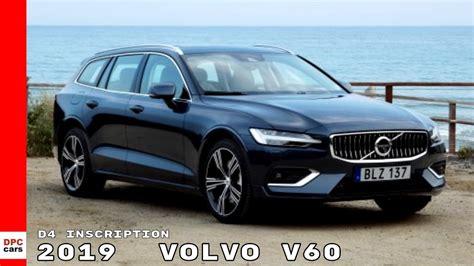 2019 Volvo V60 D4 2019 volvo v60 d4 inscription denim blue