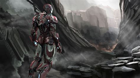 iron man art superheroes wallpapers iron man