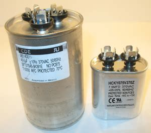 what does a capacitor do hvac start and run capacitor explained hvac how to