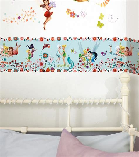 frozen wallpaper border uk disney fairies pixie promise wallpaper border from our