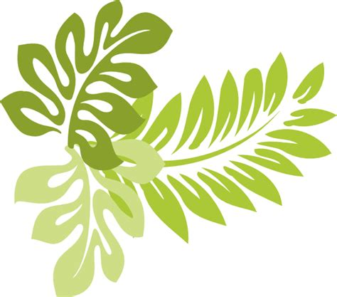 tropical pattern png tropical leaves clipart clipart suggest