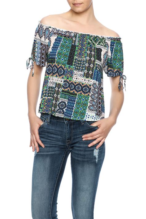 Patchwork Top - loveriche patchwork top from by shoptiques