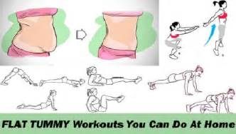 12 simple flat tummy workouts you can do at home fitness
