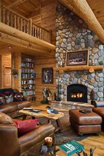 Log Cabin Decor Beyond The Aisle Home Envy Log Cabin Interiors