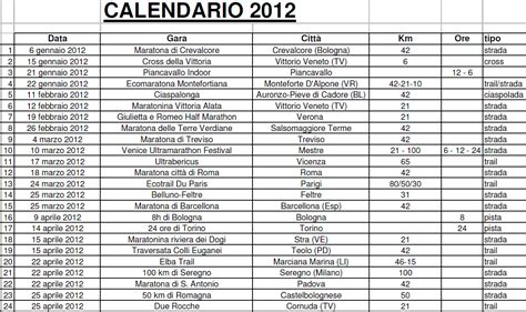 I Calendario Gae G S Mercuryus Calendario Gare 2012 Parte I