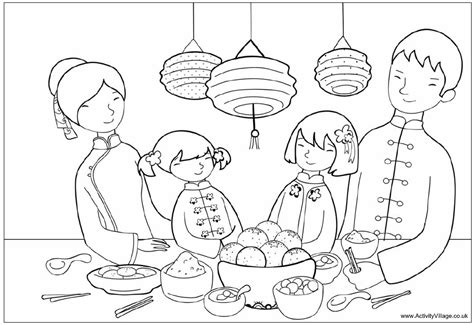 nick jr chinese new year coloring pages new year coloring pages