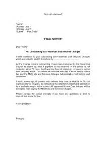 collections notice template 10 best images of notice template past due notice