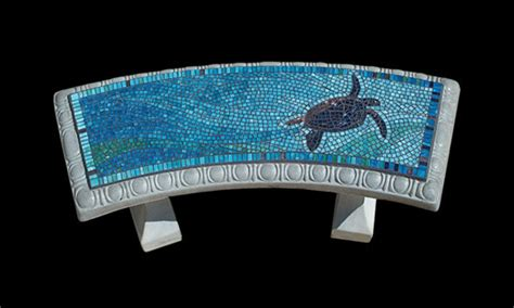 turtle bench sandra s mosaic projects