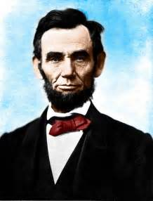 abraham lincoln in color flickr photo