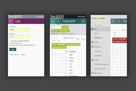 color themes extension juno css3 extension theme for phpmaker10 by simon81