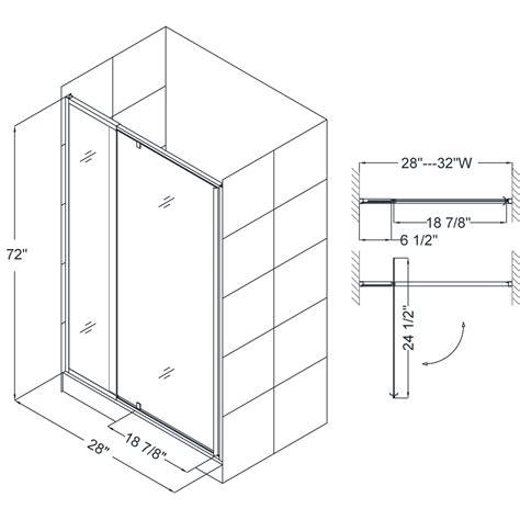bath authority dreamline flex adjustable swing shower door