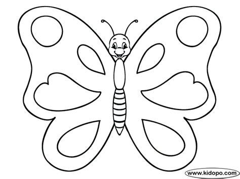 imagenes de mariposas animadas para dibujar p 225 gina para colorear de mariposa 2