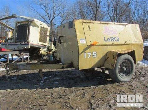 leroi 175 cfm air compressor for sale 1 729 hours blauvelt ny 9023008 mylittlesalesman