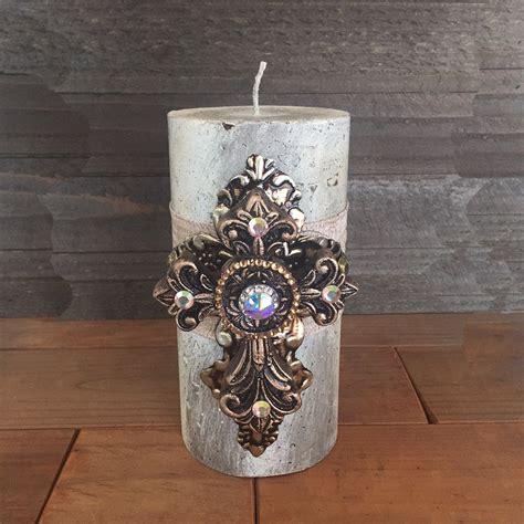 swarovski home decor luxury pillar candle swarovski crystals home decor