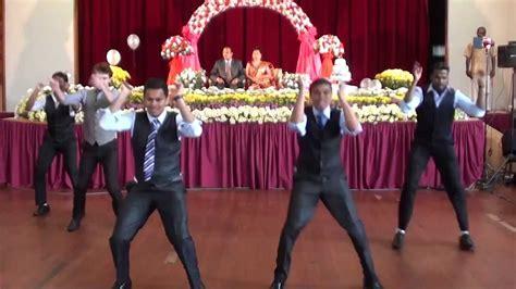 surprise indian wedding anniversary dance  white guy