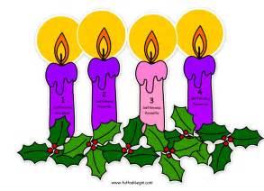 disegni di candele candele avvento immagine a colori tuttodisegni