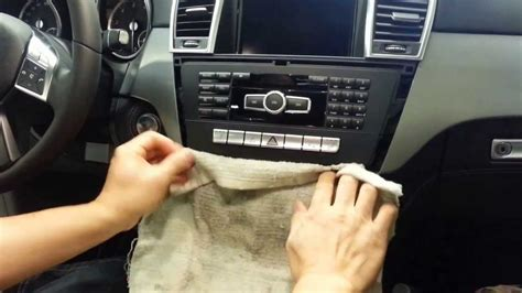 mercedes benz stereo removal  vim install youtube