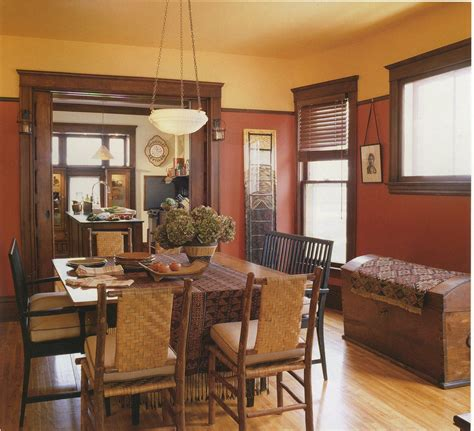 craftsman dining room dining room colors craftsman