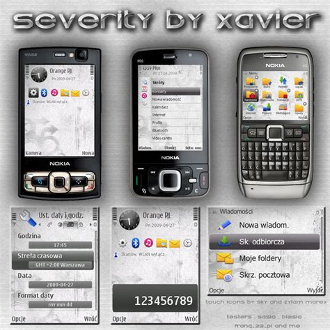 effect themes e63 severity symbian theme by xavier themes on deviantart