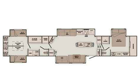 two bedroom rv floor plans 2 bedroom 5th wheel bedroom at real estate