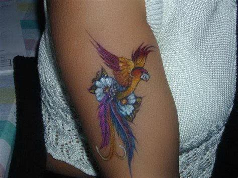 tattoo paradise japanese bird of paradise