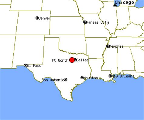 fort texas location map texas map fort worth
