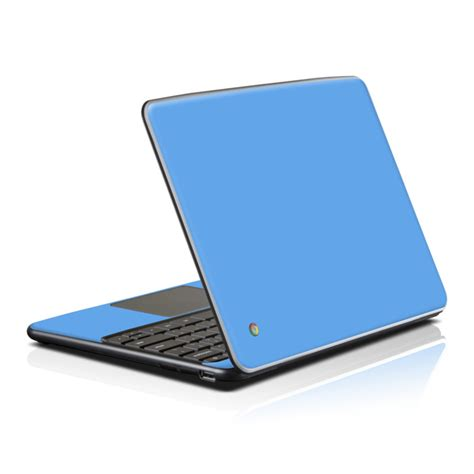 chromebook colors samsung series 5 chromebook skin solid state blue by