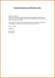 How Write Verification Letter Employment employment verification letter doc employment verification letter