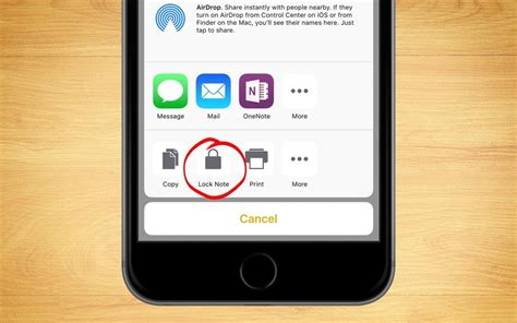 Iphone Lock how to lock a note in the ios notes app