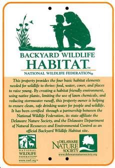 backyard habitat certification conservation landscaping tributaries