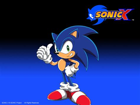 Sonic X sonic x show images logo wallpaper hd wallpaper and