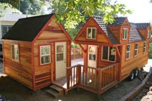 Tiny House With Porch Tiny House On Wheels With A Studio Shed And Connecting