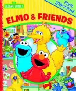 sesame street elmo friends phoenix international publications