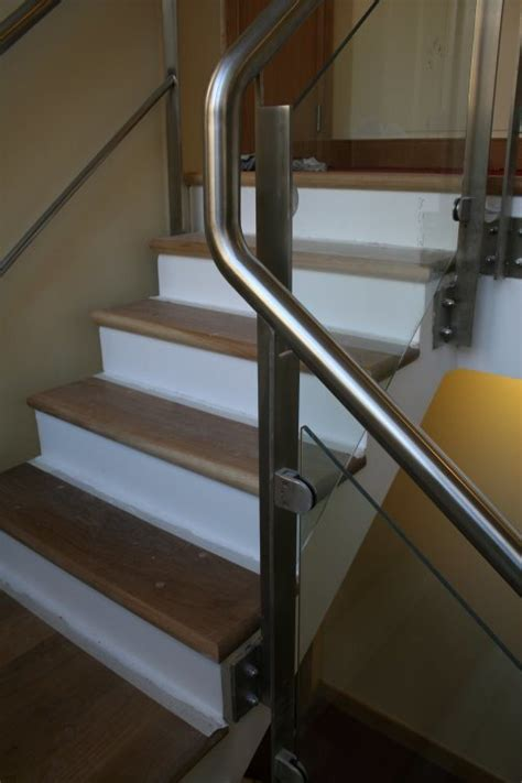 Stainless Steel Banister Rail by China Stainless Steel Stair Stairway Staircase Railing