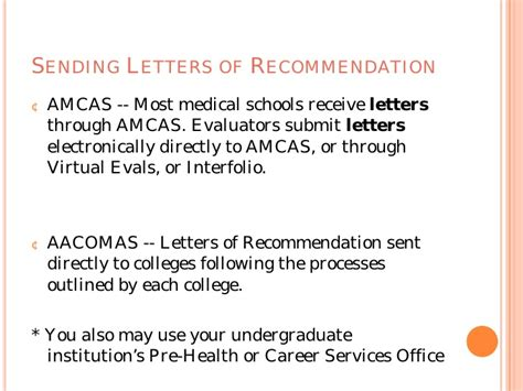 Amcas Letter Service Vs Interfolio The School Application Process From A Z