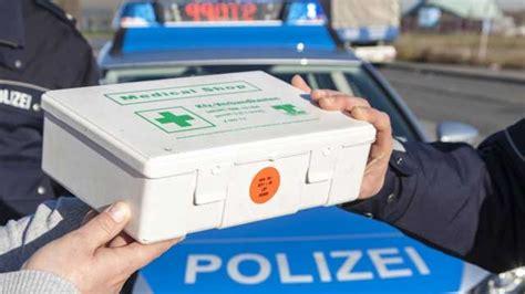Verbandskasten Auto Kontrolle by Verbandskasten Im Auto Neue Norm Di 13157 F 252 R Verbandsk 228 Sten