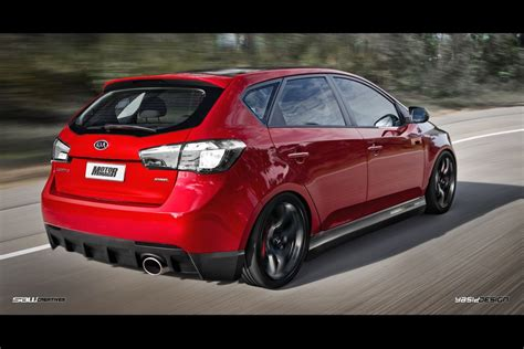 Kia Cerato Hatch Kia Cerato Hatch Rear Kit By Yasiddesign On Deviantart