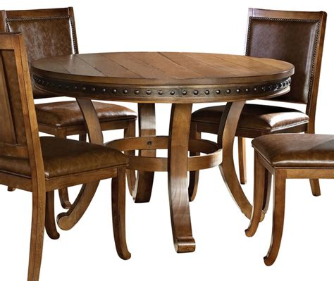 48 inch dining tables steve silver ashbrook 48 inch dining table
