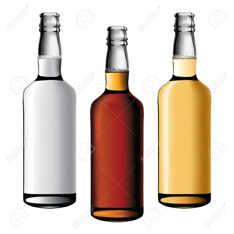 alcoholic drinks bottles alcohol bottles clipart 66