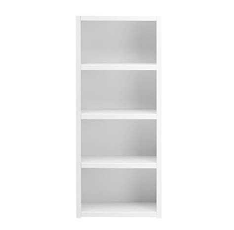 White Wooden Shelves Bookcase With 3 Shelves Solid Wood White For Children In S A