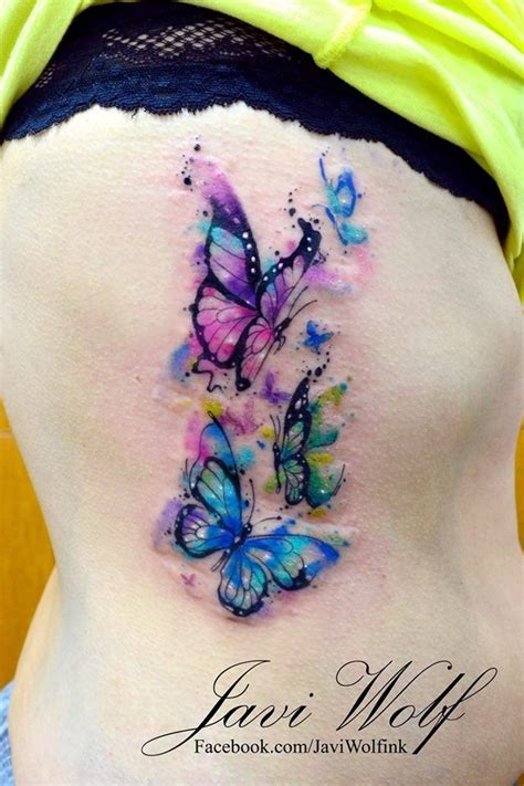 butterfly tattoo with numbers butterfly tattoo combined with flowers to represent number