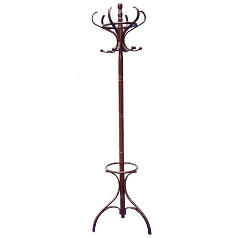 Standing Hat Rack by Coat Stand Mahogany Hook Coat Hat Jacket Umbrella Standing