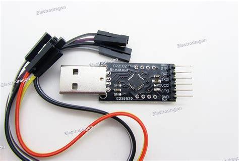 Usb To Ttl Type Cp2102 Module cp2102 usb ttl uart module v2 electrodragon