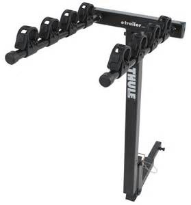 thule parkway 4 bike rack for 1 1 4 quot hitches tilting